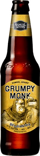 Large Beer Grumpy Monk