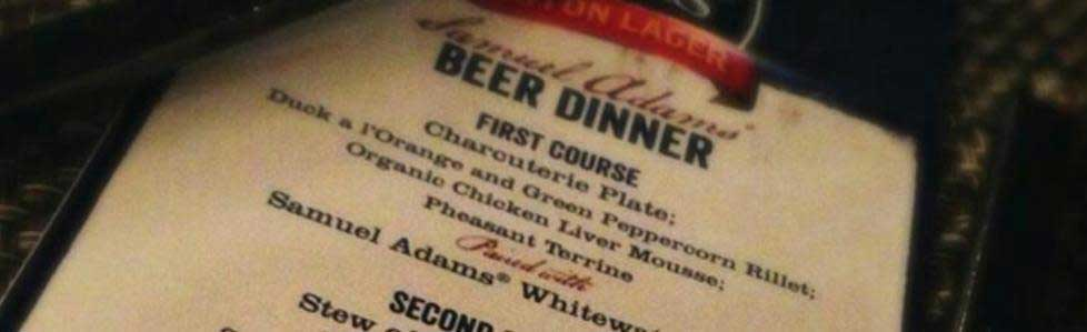 Beer Dinner Events Image