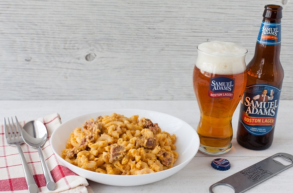 Boston Lager Mac   Cheese