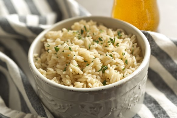 Boston Lager Steamed Rice