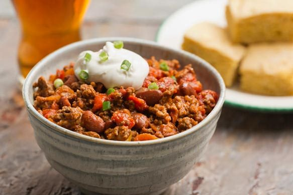 Cowboy Beef Boston Lager Chili