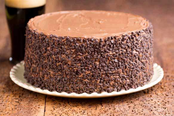 German Sweet Chocolate Bock Cake
