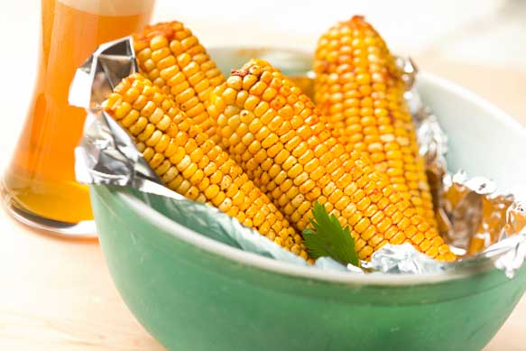 grilled corn with samuel adams butter