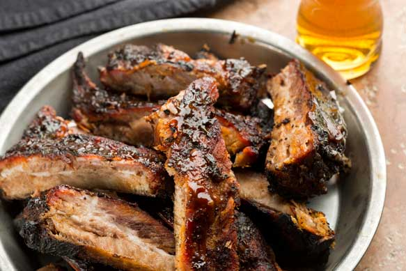 Lagered and Angry Spareribs