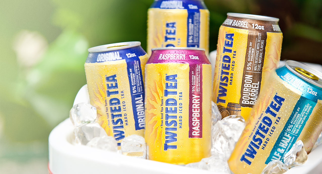 Twisted Tea Homepage