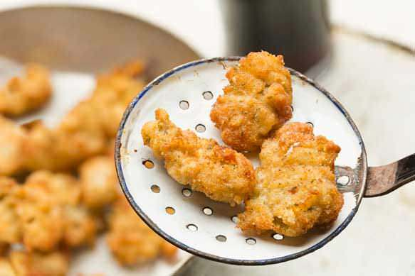 Quick Fried Oysters