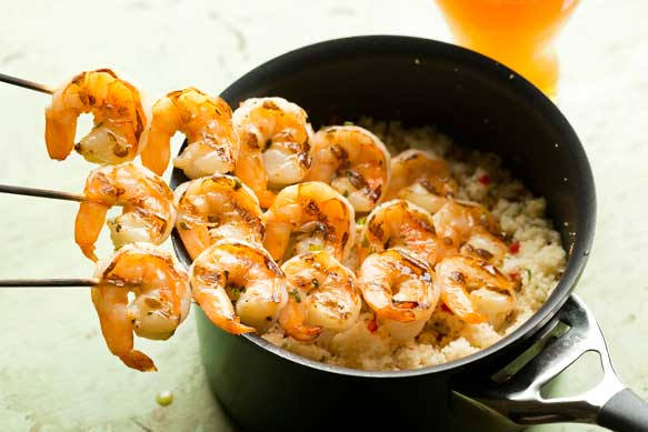 Samuel Adams Marinated Shrimp
