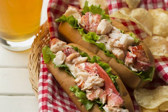 Samuel Adams Summer Ale Lobster Roll