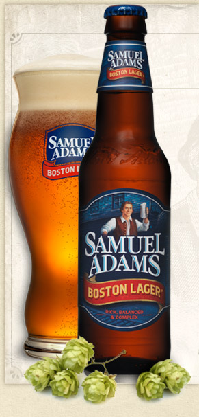 Boston Lager by Samuel Adams Brewery