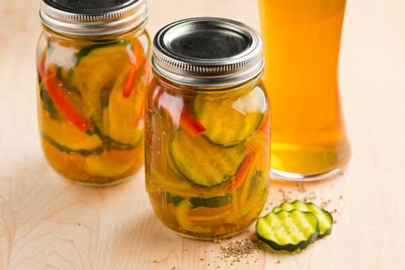 Summer Ale Pickles - Food & Craft Beer