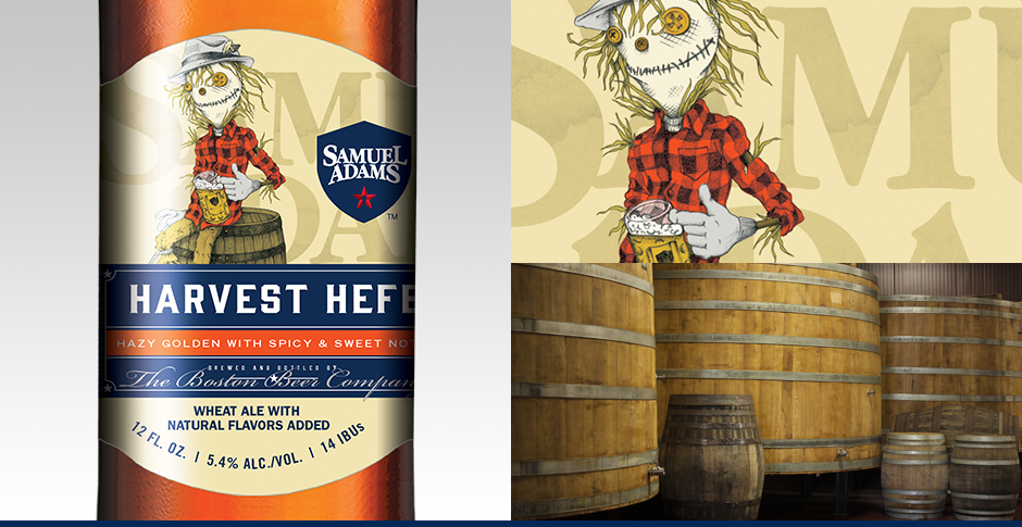 Image result for Sam Adams harvest hefe logos