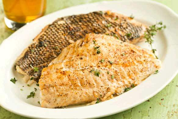 Peppered Black Sea Bass